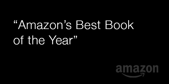 """Amazon's Best Book of the Year"""